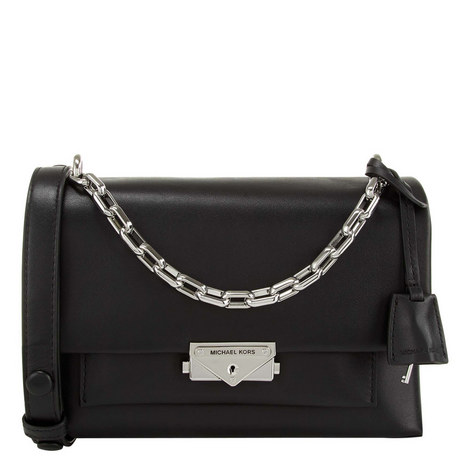 Cece Medium Chain Shoulder Bag, ${color}
