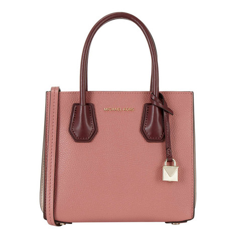 Mercer Leather Small Tote, ${color}