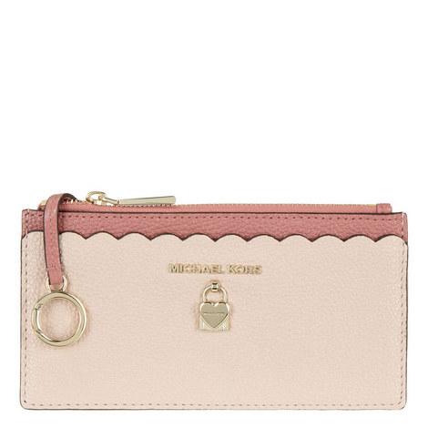Scalloped Slim Wallet, ${color}
