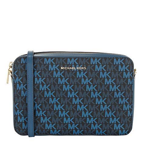 Diagonal Large Crossbody Bag, ${color}