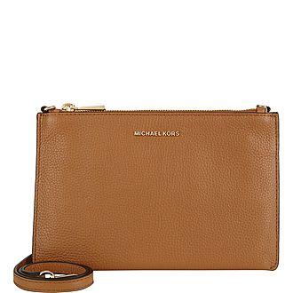 73948ae7416146 Adele Medium Signature Crossbody Bag · MICHAEL MICHAEL KORS ...