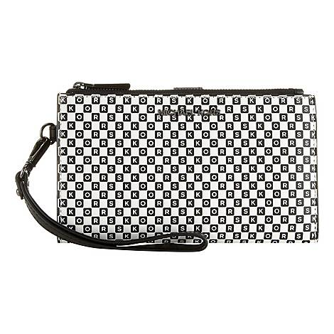 Logo Checkerboard Wallet, ${color}