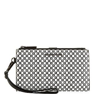 Logo Checkerboard Wallet