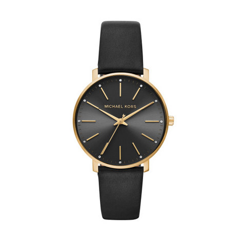 Pyper Leather Watch, ${color}