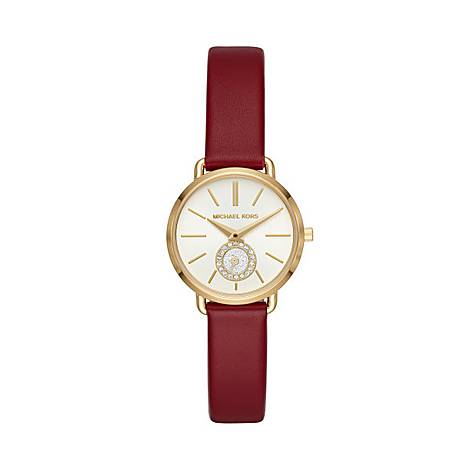 Portia Leather Watch, ${color}