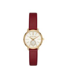 Portia Leather Watch