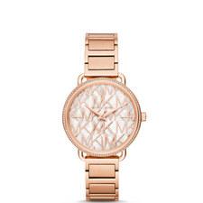 Portia Crystal Bracelet Watch