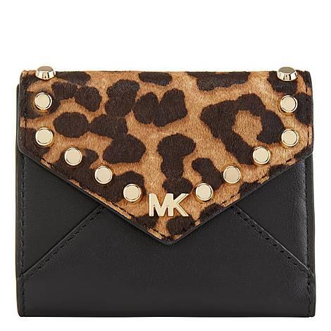 Leopard Mott Medium Wallet , ${color}