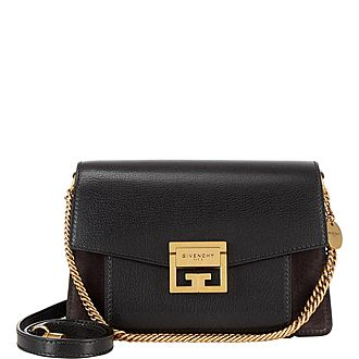 GV3 Suede Small Leather Bag