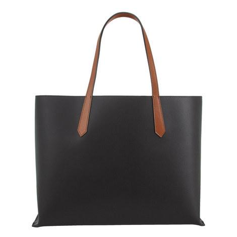 Leather Shopper Bag, ${color}