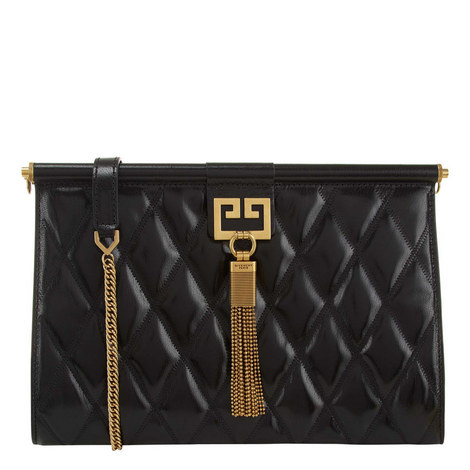 Gem Quilted Clutch, ${color}