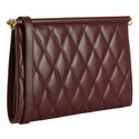 Gem Small Quilted Clutch, ${color}