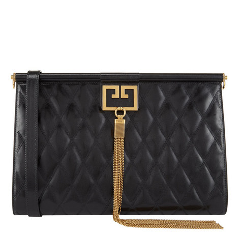 Quilted Large Clutch, ${color}