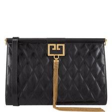 Quilted Large Clutch