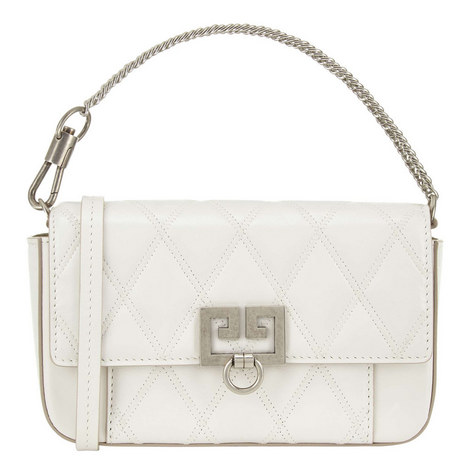 GV3 Quilted Mini Pouch Bag, ${color}