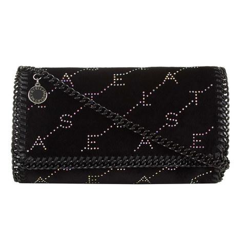 Velvet Crystal Crossbody Bag, ${color}