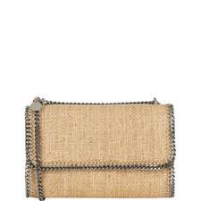 Falabella Raffia Shoulder Bag
