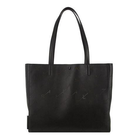 Laser Logo Shopper Bag, ${color}