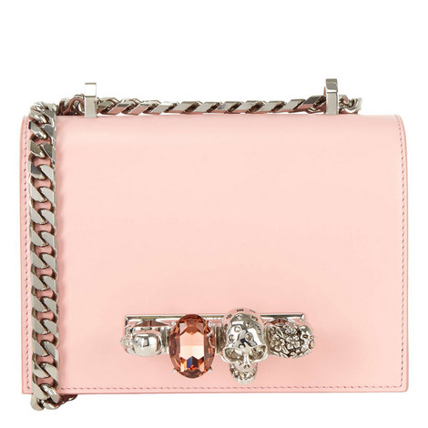 Jewelled Small Satchel Bag, ${color}
