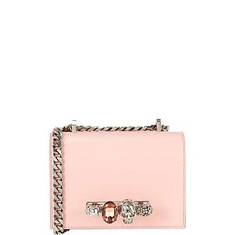 Jewelled Small Satchel Bag