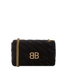 BB Velour Chain Bag