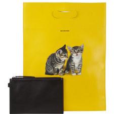 Kittens Plastic Shopper Small