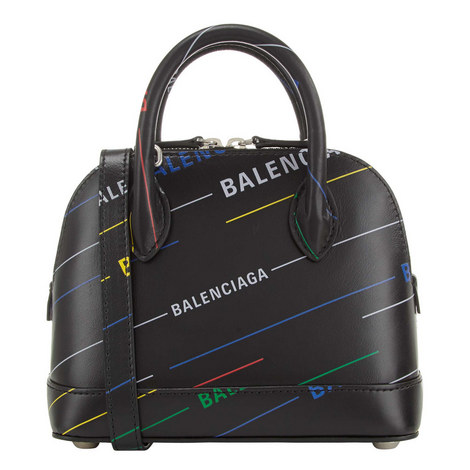 Ville Top Handle Xs Logo Bag, ${color}
