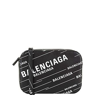 Logo Camera Large Crossbody Bag