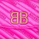 Satin BB Chain Crossbody Bag, ${color}