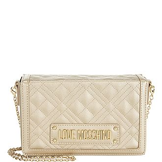 Quilted Chain Clutch