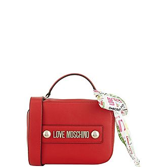 Letter Logo Shoulder Bag