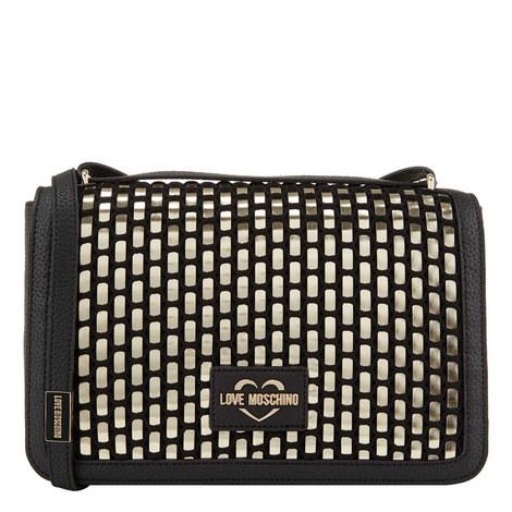 Woven Medium Crossbody Bag , ${color}