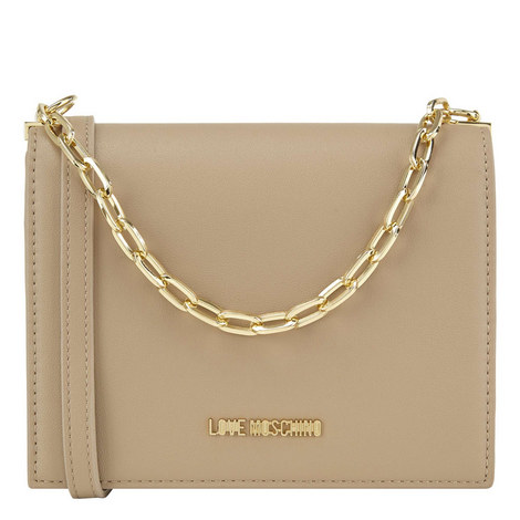 Clean Chain Crossbody Bag, ${color}