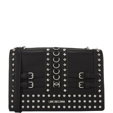 Stud Buckle Shoulder Bag