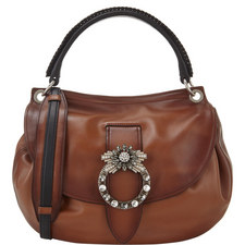 Jewelled Hobo Bag