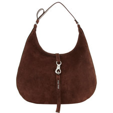 Maxi Suede Hobo Bag