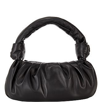 Knotted Soft Shoulder Bag