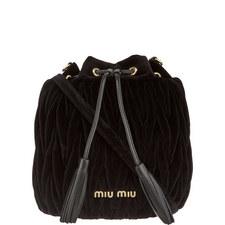 Matalessé Velvet Bucket Bag
