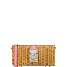 Basket Crossbody Bag
