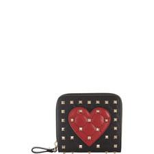 Rockstud Heart Wallet