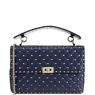 Rockstud Large Spiked Shoulder Bag