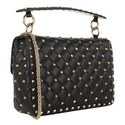 Rockstud Spike Small Shoulder Bag, ${color}