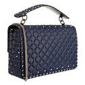 Spike Small Shoulder Bag, ${color}