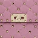 Rockstud Spike Chain Crossbody Bag, ${color}