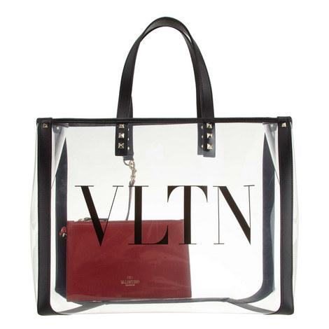 VLTN Plexy Shopper Tote, ${color}