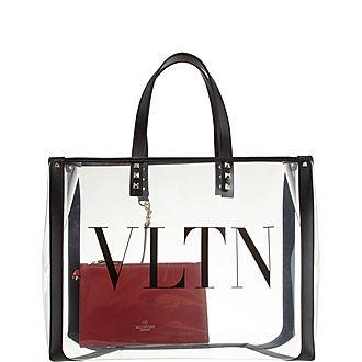 VLTN Plexy Shopper Tote