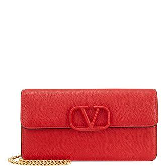 Vsling Chain Strap Wallet
