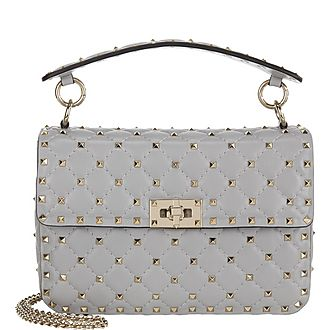 Spike Medium Shoulder Bag