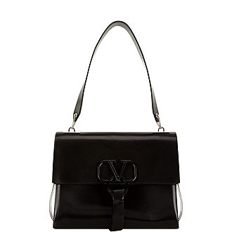 V-Ring Medium Shoulder Bag