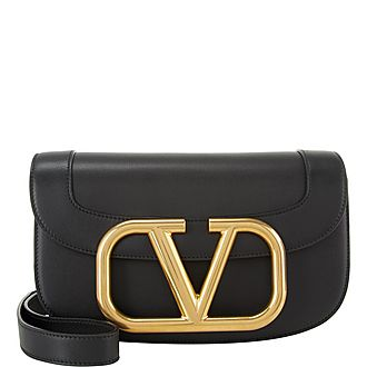 V Shoulder Bag